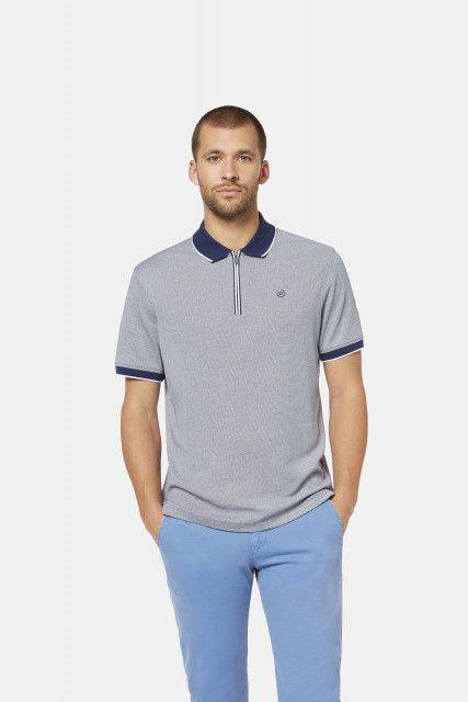 Polo shirt in blue