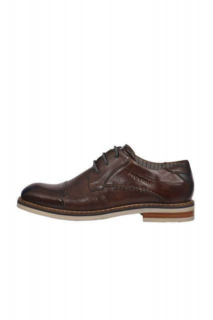 Lace-up shoes in dark brown