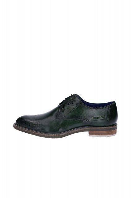 Business shoes in green
