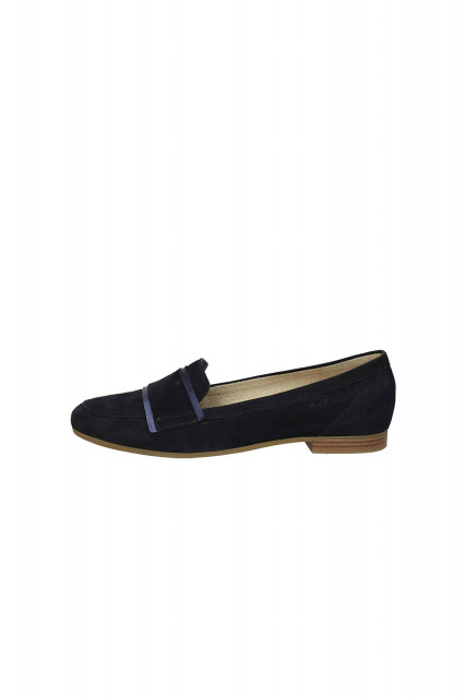 Slippers in dark blue