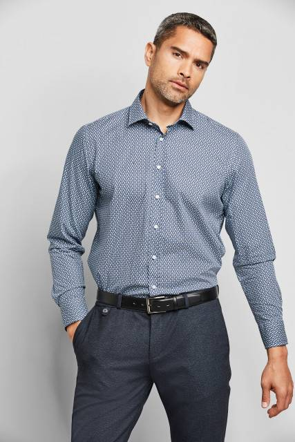 Shirt in blue