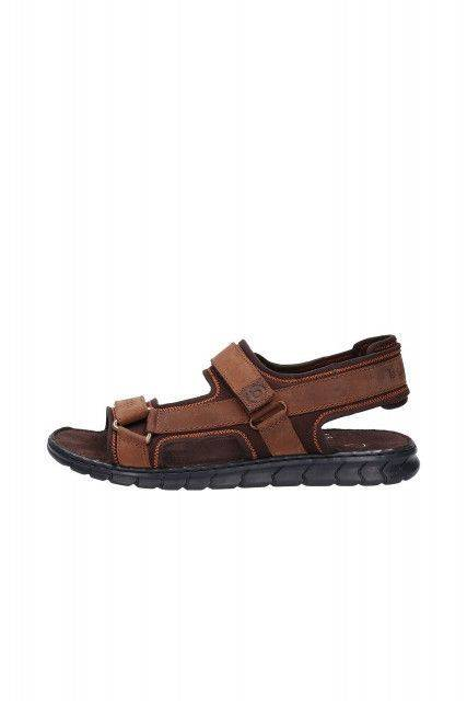 Sandals in brown