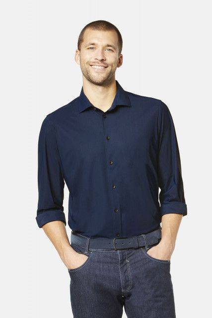 City shirt in dark blue
