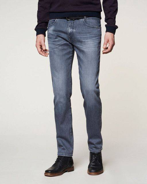 Jeans in grey-blue