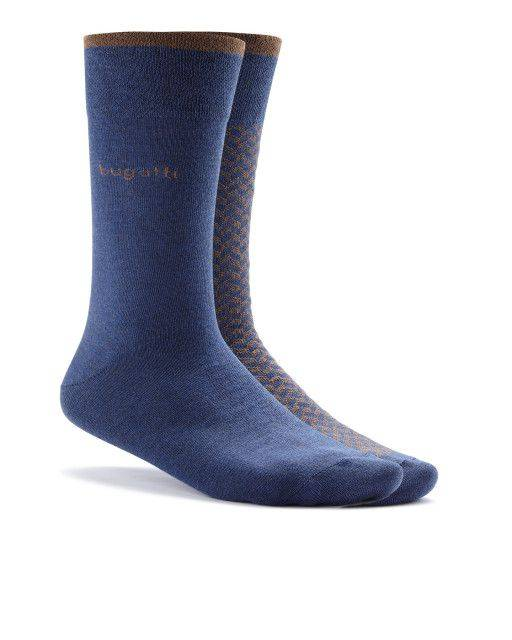 Two-pack of socks in blue