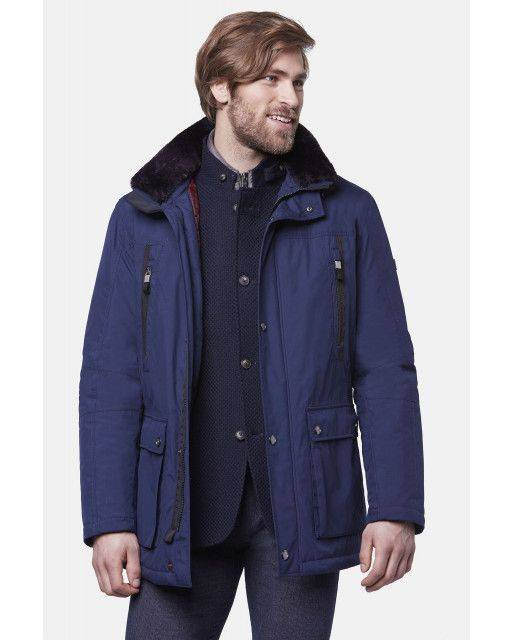 Jacket in dark blue