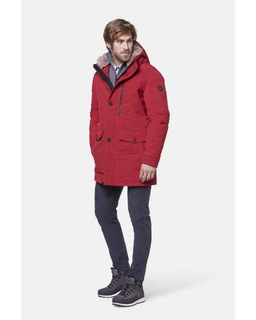 Parka in red