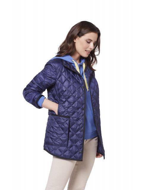 Lightweight quilted jacket in blue