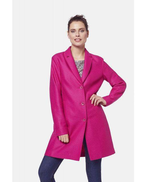 Short coat in pink