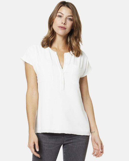 Blouse-shirt in off-white