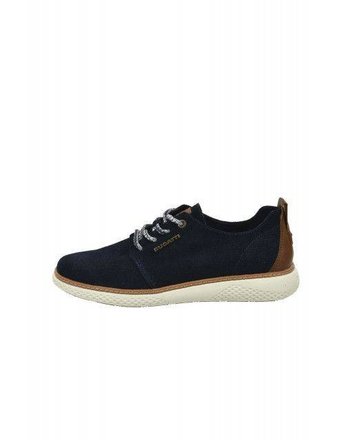 Lace-up shoes in dark blue