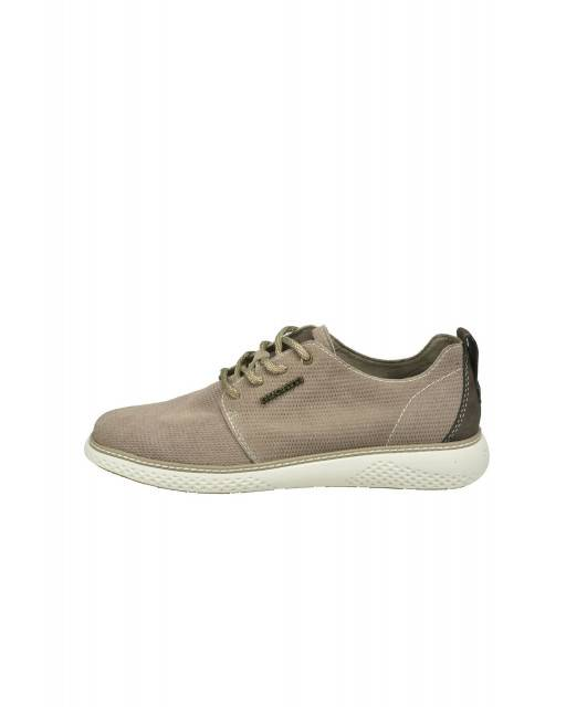 Lace-ups in taupe