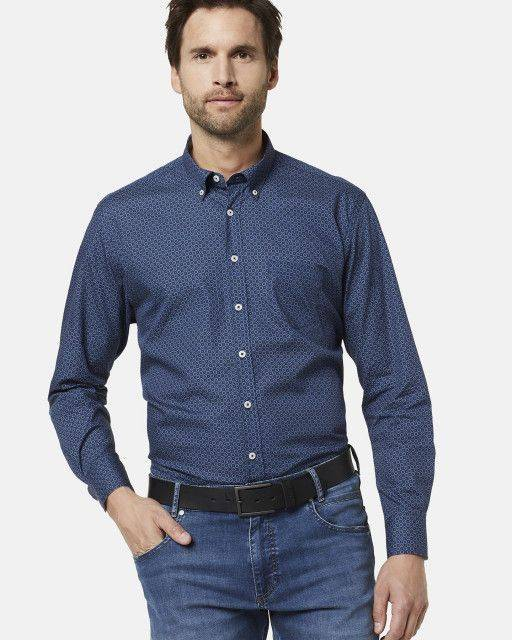 Casual shirt in navy